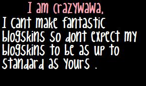 crazywawa's pretty face