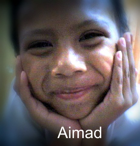 Aimad's pretty face